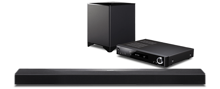 Onkyo SBT-A500 Surround sound bar system DTS:X