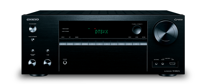 The Onkyo TX-NR676  7.2-Channel Network A/V Receiver