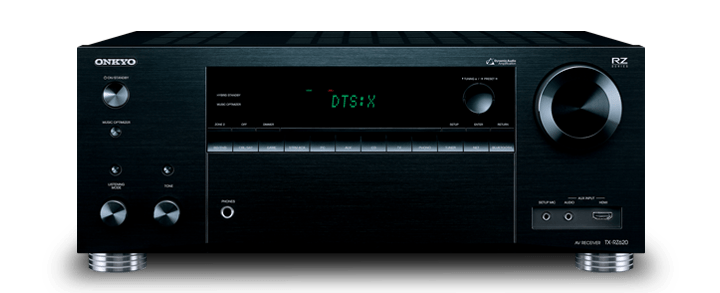 The Onkyo TX-RZ620 7.2-Channel Network A/V Receiver