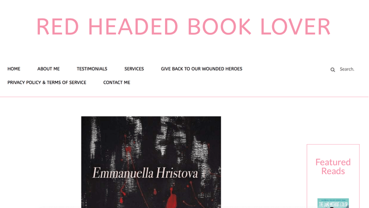 Screenshot of a five-star book blog review for The Day My Kisses Tasted Like Disorder by Emmanuella Hristova