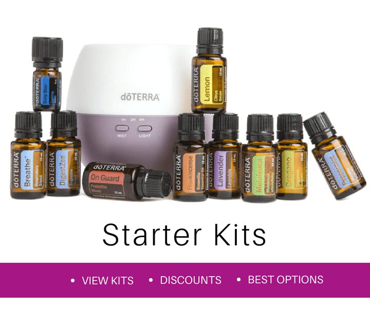 Order a starter kit with the top ten essential oils from doTERRA in Sweden, Germany and Europe