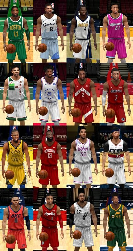 78647dbcfd0c 2018-2019 NBA Nike Earned Edition Jerseys