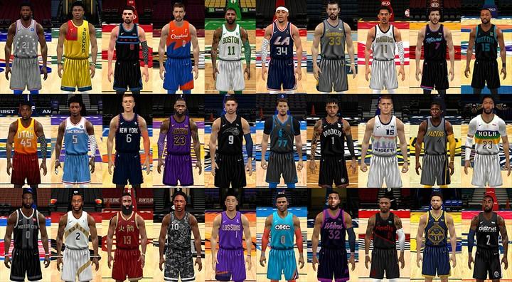 5f74ab1d7c2c 2018-2019 NBA Nike City Edition Jerseys