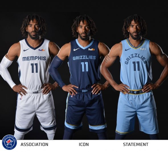 401e0927eb47 2018-2019 Memphis Grizzlies Official Jerseys