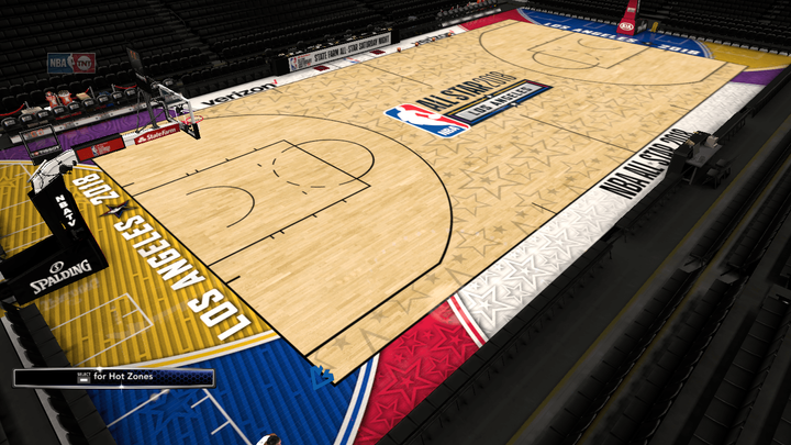 520495cafe5 2017-2018 Los Angeles All-Star Game Court