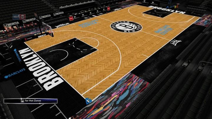 2ca942da6d28 2018-2019 Brooklyn Nets City Edition Court