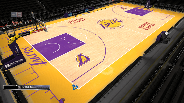 f92feb5d96c 2018-2019 Los Angeles Lakers Official Court