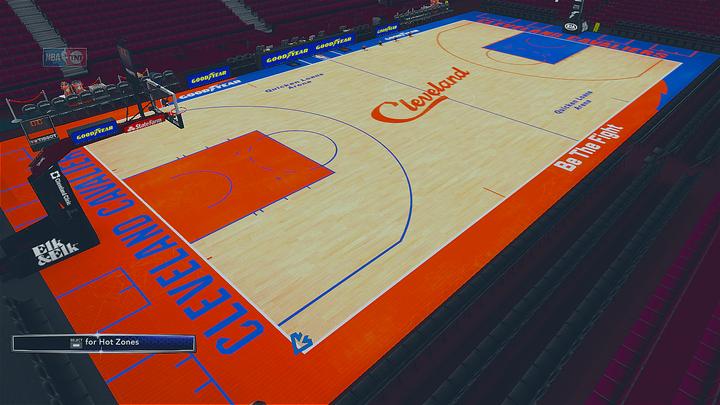 d81d1f3d1 2018-2019 Cleveland Cavaliers City Edition Court