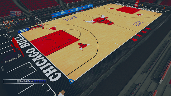 628ee46ecc2 2018-2019 Chicago Bulls Official Court