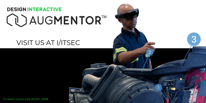 Design Interactive Augmentor will be at IITSEC 2019