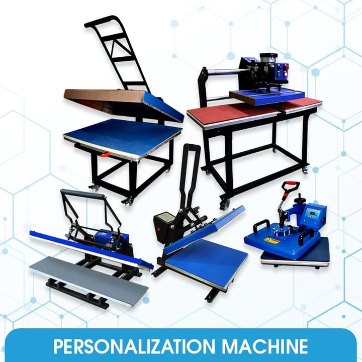 Cutter Plotter, Silkscreen machine and Button Pin Macker