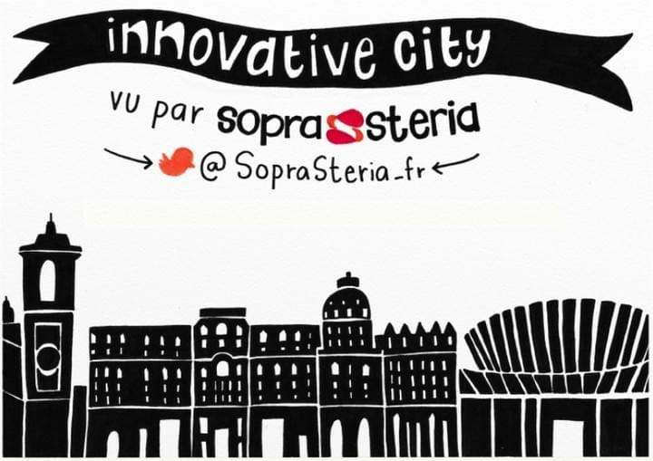 facilitation graphique, facilitation visuelle, Hélène Pouille, innovative city, sopra steria, smart city
