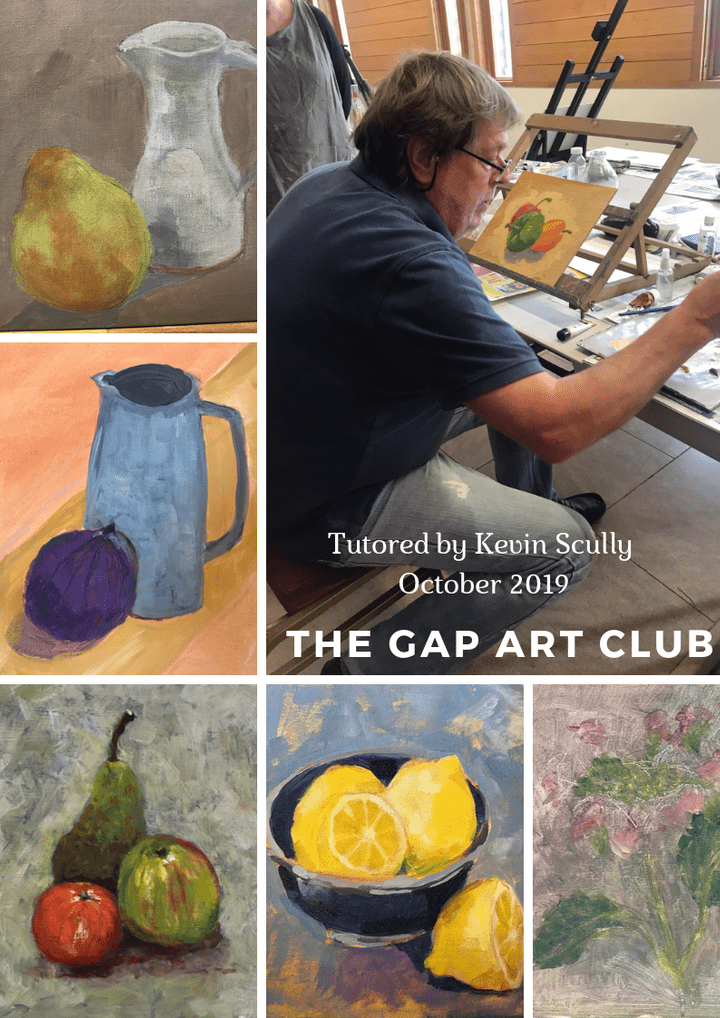 The Gap Art Club Tutor led session February 2019