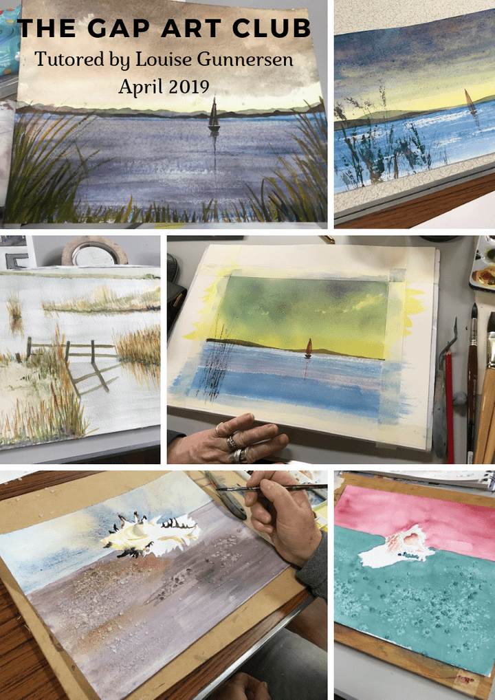 The Gap Art Club tutor led session April 2019