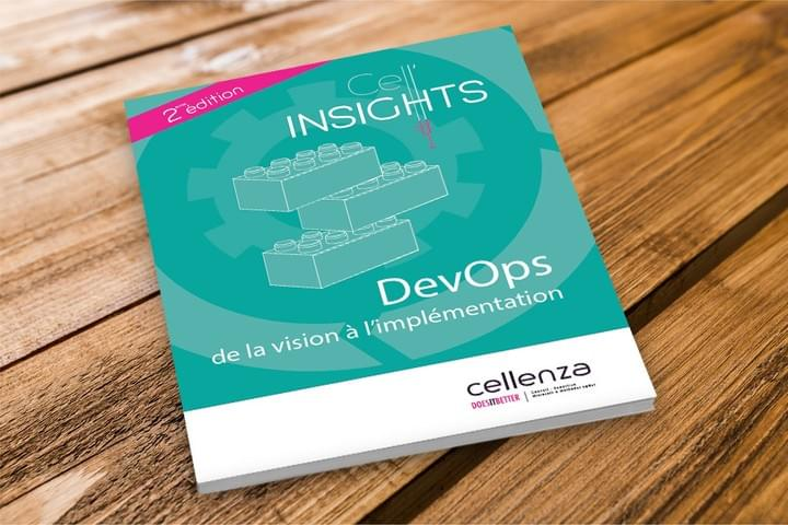 DevOps de la vision à l'implémentation / Cellenza / Bourguignondesign