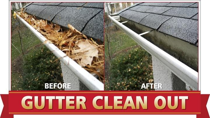 gutter cleaning stroud