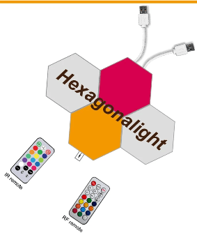 hexagonal led modular
