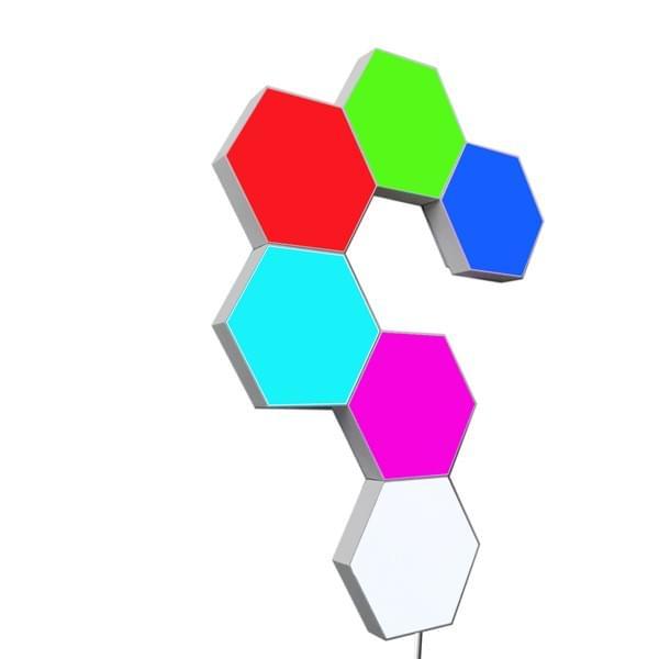 LED Quantum light for wall decoration