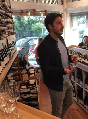 Natural wine importer Pierre Gastaldello (on left) of Bobo Selections will be our presenter on Sunday Oct. 14th for a free wine class