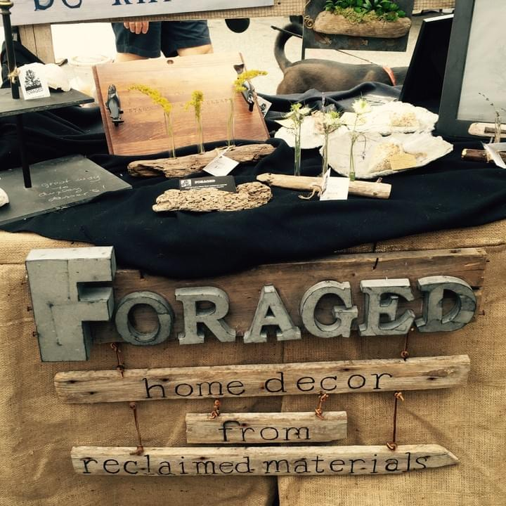 Foraged - home decor and gifts from reclaimed materials