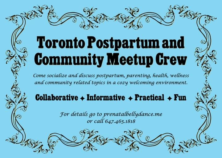 Toronto Postpartum and Community Meetup Crew
