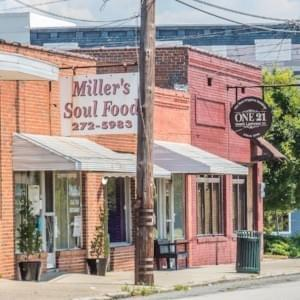 Miller's Soul Food, Downtown Dublin, GA