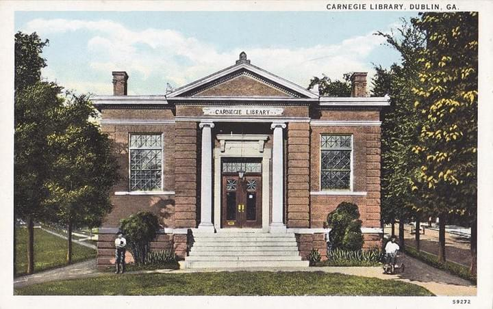 Carnegie Library, Downtown Dublin, GA