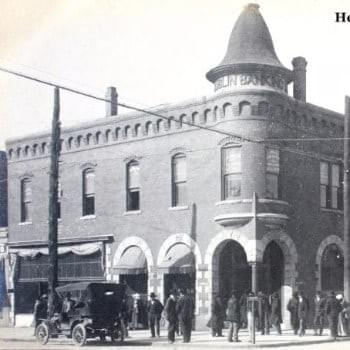 The Henry-Curry Building, Downtown Dublin, GA