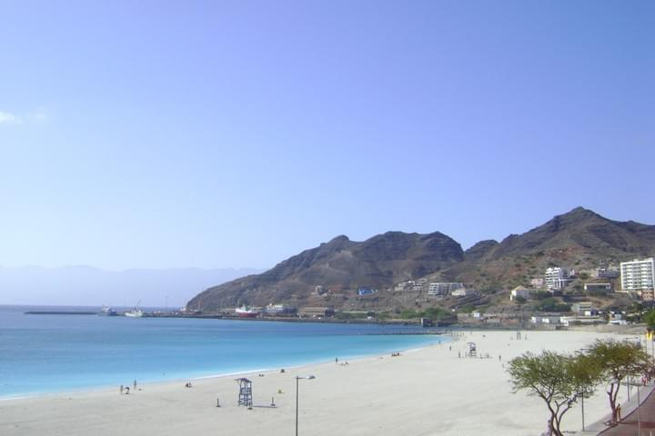 Laginha, Mindelo's city beach
