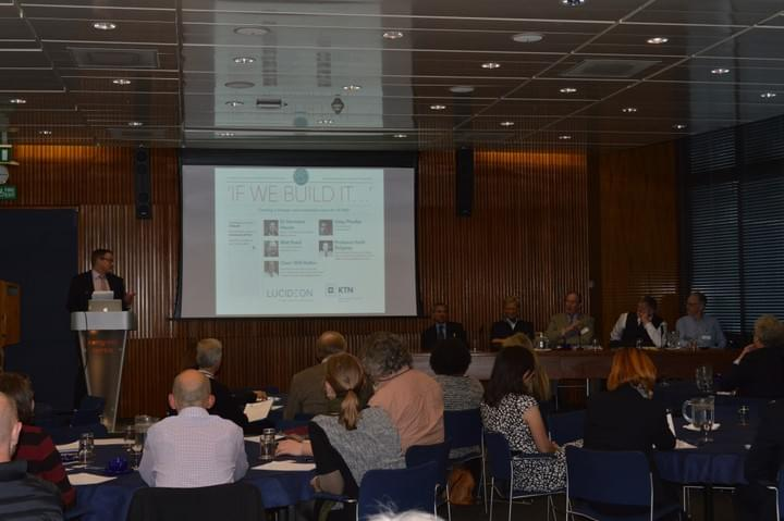 Introductions at 'If We Build It…' event, 2015