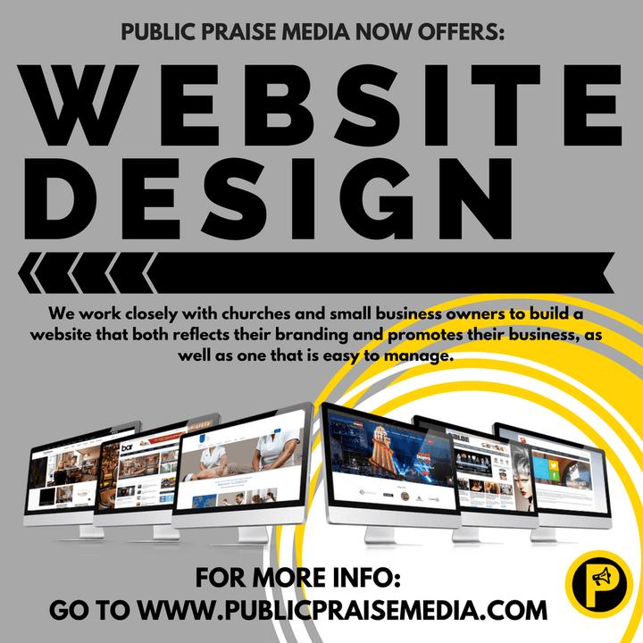 Web Design - Public Praise