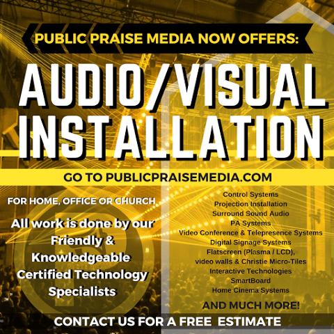 Audio/Visual - Public Praise