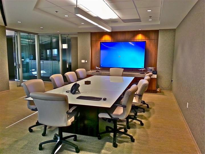 We are professionals at making conference rooms simple , elegant and easy to use. OAVS has helped hundreds of business setup great Zoom Rooms, Skype for business, Cisco Webex and many more conference centers. We specialize in most major brands including Crestron.