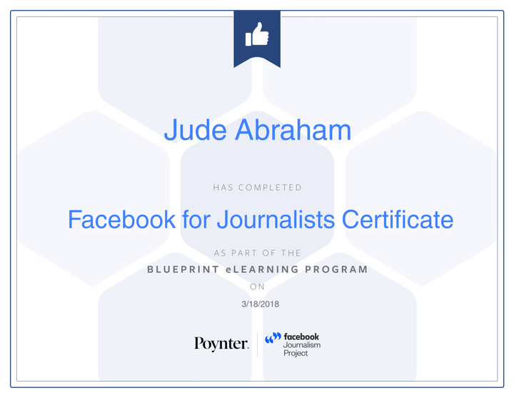 Facebook for Journalists