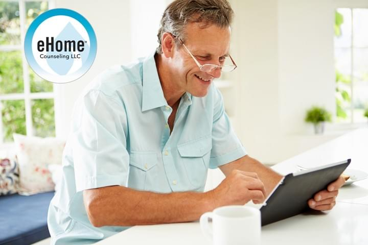 eHome counseling, online therapy, affordable, easy, confidential