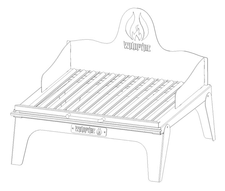 Wildpyre Pequeno Portable Parilla Grill
