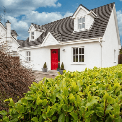 Property Description Colbert & Co are delighted to present this wonderful home nestled away in the quiet Cul-de-sac estate of Curragh Glen, Upper Aghada. With a massive sprawling rear garden and stylish finish, this property has it all. Curragh Glen is situated in Upper Aghada just a short distance from Whitegate Village and Lower Agahda which boasts magnificent views of the water and scenic walks. There are a wide selection of amenities surrounding you with a EuroSpar in Whitegate, Award winning Peppertsack Bistro in Lower Aghada, the Pier filling station and there is even a chocolate factory in the nearby Rostellan village. The community playschool, national school, post-office and bus-stop are all within one minute's walk of this property.  Sports are a big part in this area with a fine selection to choose from. There are the Aghada tennis and sailing club, local GAA pitches, Aghada Triathlon club, Cork Beg soccer club, Whitegate rowing club and there is even a pitch& putt course nearby. There is a fabulous lifestyle to be had here and that is added to by the nearby blue flag beaches. The property is finished very well and has all you require including 4 bedrooms, two downstairs with other two on 1st floor with ensuite and wonderful solid oak fitted wardrobes. The kitchen is a great size and modern with beech worktop to set off the grey slate tiling on floor. Your front room has open alcoves which give the sense of flow whilst holding its privacy. There is also an open fire with featured concrete wall surrounding. Even the lighting in this property is high quality with the owners going for high spec throughout ranging from the kitchens Targetti Italian fitting to the foot level spot lights fitted in stairs and landing. The ground floor has 2 bedrooms with the option of smaller room being used as office. There is also ample storage under stairs which also has plumbing for a toilet should you wish to convert.  Upstairs there are a further 2 bedrooms both good size with double aspect windows. Rear velux windows are fitted with blinds and front windows overlook a green area which gives a great sense of light spreading through. The main bathroom has a power shower and also a separate bath. Your master bedroom includes an ensuite with power shower and also a large Caseys Solid Oak wardrobe which is included in the sale. The space to rear is massive and you have the potential to extend should you so wish. Along with steel framed timber gates either side for access, there are 2 sheds to back of garden along with 2 patio areas. The perfect setting a for a growing family.  This really is a beautiful home with an awful lot to offer. Viewing is highly recommended.
