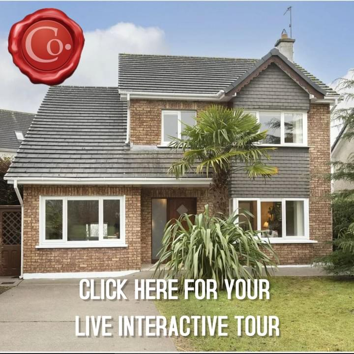 **LIVE INTERACTIVE TOUR AVAILABLE**Colbert & Co Estate agents proudly present this stunning home in one of the most sought after estates in Midleton. 3 Redwood Lane stands proud in the neatly tucked away, quiet and secure Cul de sac Estate. This spacious family home has it all with 4 bedrooms , 2 of which are ensuite. You also have 2 living areas on the ground floor to avoid squabbles over the TV. Redwood Lane estate is hugely sought after mainly due to its secluded surroundings and low density build. There are only 7 homes in situ and they are all detached increasing the exclusivity even more. The large green area to the front provides a secure place for kids to play in clear view.   The finish in this home has to be seen to be believed with high quality tiled flooring throughout the ground floor and a high spec kitchen in situ. There is an open plan feel to the property which €€TMorked perfectly for us as a family€TMTMsay the current owners. The main living room has solid timber flooring with a solid wood fire surround. This room has double doors which open up into the dining area and kitchen.