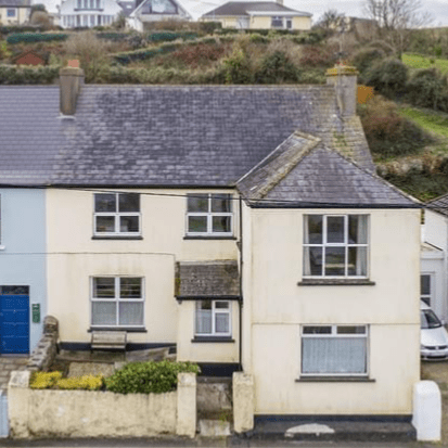 Colbert and Co are delighted to bring Troy House a substantial 5 bed, 2 bath period home circa 1800 to the market. Located in Ballycotton one of East Cork's most prestigious coastal villages. The property extends to just under 2000sqf and comprises of two living rooms, dining room, large open plan kitchen living area, bathroom and conservatory all on the ground floor with a further 5 bedrooms and bathroom on the upper floors. This property also benefits from having a very large private mature garden set just across the road, the garden overlooks Ballycotton bay so enjoys stunning sea views. Troy House is superbly located on the main road through the fishing village, its prime position means it enjoys uninterrupted sea views and its old-world charm and quirky layout will appeal to buyers.