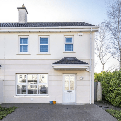 Colbert and co are proud to present this fabulous three bed semi to the market, the property is located in Cul Ard one of Carrigtwohill's most popular estates. The property comprises of living room, kitchen/diner and guest WC on the ground floor with a further three good-sized bedrooms and bathroom on the first floor. This owner occupied property is tastefully decorated with quality fixtures and fittings to include cream gloss kitchen with solid wood counter top, antique white & oyster wooden blinds and solid wood floor in living room.  This comfortable and stylish home would suit first time buyers or buyers looking to downsize. The property has the added benefit of being just a stone throw away from the vibrant village of Carrigtwohill. The village itself is continuing to expand with the addition of new café's, pharmacies and a Primary Heath Care centre located in the Castle Square building, the architects of which are Wejchert Architects (the centre was shortlisted for Isover Awards 2019 - Energy Efficient Building & Design). Carrigtwohill also boasts excellent transport links with the N25 motorway being easily accessible, and is serviced by both bus and train. There is also a host of supermarkets, bars and restaurants to choice from as well as primary and secondary schools. This beautiful property will not be on the market for long, if you wish to express an interest please contact the office on 0214-639557 to book in your viewing!