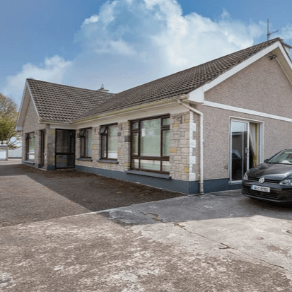 Property Description Colbert & Co are delighted to offer the beautiful Railway Cottage to the open market. Located in the picturesque and much south after Glounthaune area, this 4 bedroom detached bungalow has a host of advantages. Glounthaune is a very popular location and for good reason. Situated between Cork City and Midleton, this area gives you easy access to the aforementioned along with Little Island, Cobh and Carrigtwohill all of which are also accessible by train. Fitzpatrick€TM shop is famous for large range of foods and baking whilst there is also a church and day care centre within walking distance of Railway Cottage. Obviously with the name there is no denying the availability you have to the railway line but this is an added advantage for those who may not have a car or wish to reduce their carbon footprint.  The property has 4 good size bedrooms and 2 living areas. There are 2 bathrooms with one completely fitted out as a wet room so ideal for older occupants. The majority of house was just recently painted so there is little to no work required. The outside has ample space for parking to one side and a huge garden to the other. There is room for extension if needed off the kitchen area. There are a number of outhouses and garages all clean and fitted out ready to go for those of the tinkering nature. This really is a fantastic home for those either trading down or looking to the future due to the bungalow style and proximity to amenities. Video viewings are available on our YouTube channel or our website  Front Porch Tiled floor   Entrance Hall 2m x 4.2m Staira attic stairs into large attic space.  Living room 5m x 4.2m Large front aspect window which allows for a wonderful large light filled room. Open fireplace.  Kitchen/Dining room 7m x 3.95m Kitchen area - Fully fitted kitchen, tiled floor and recessed stove. Dining area - Tiled floor and Double sliding doors to the side of the property.  Utility room 2.9m x 2m Fitted units, tiled floor and plumbed for washing machine.  Toilet and Whb which is fully tiled.  Rear porch 2.7m x 2.12m Tiled floor.  Bedroom One 4.07m x 3.93m Large double bedroom to the rear.  Bedroom Two 3.65m x 2.88m Double bedroom to the rear.  Bedroom Three 2.88m x 2.76m Double bedroom to the front.  Bedroom Four 2.72m x 2.9m Double bedroom to the rear.  Wet Room 2.76m x 1.77m Tiled walls, power shower and white bathroom suite.   Outside the property stands on a large site with a substantial side garden and ample parking.  Rear deck and patio area  Large workshop 4.27m x 3.92m  House was built in the early 70s