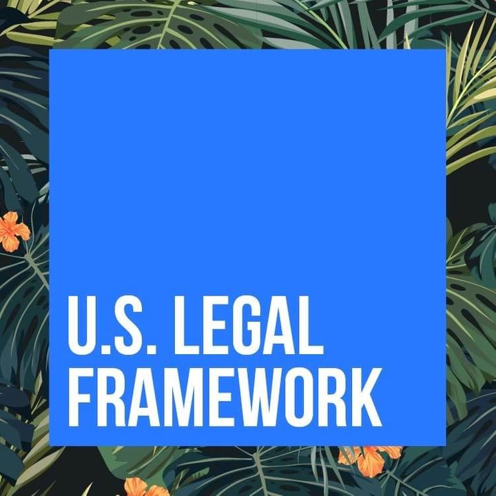 US Legal Framework - PR Incentives