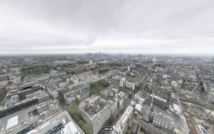 London Skyline Gigapixel Panorama Photo
