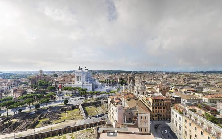 Rome Skyline Panorama Gigapixel Photo