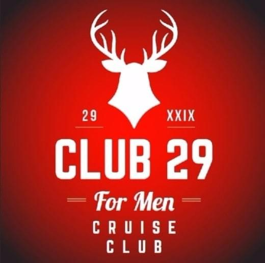 Number 29 cruise club Logo hot male fun