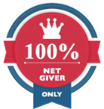 100% Net Givers Only