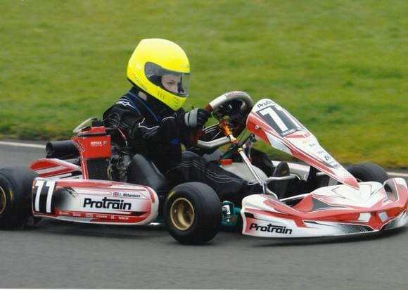 Lightning Luke Richardson Go Karting Team Aspire Sponsorship Aylesbury Tring