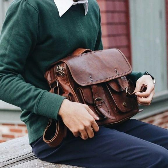 NOMAD Leather Satchel