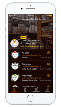 To get started on PintHub, download our craft beer app off of the Apple App Store and then sign up for our craft beer membership.