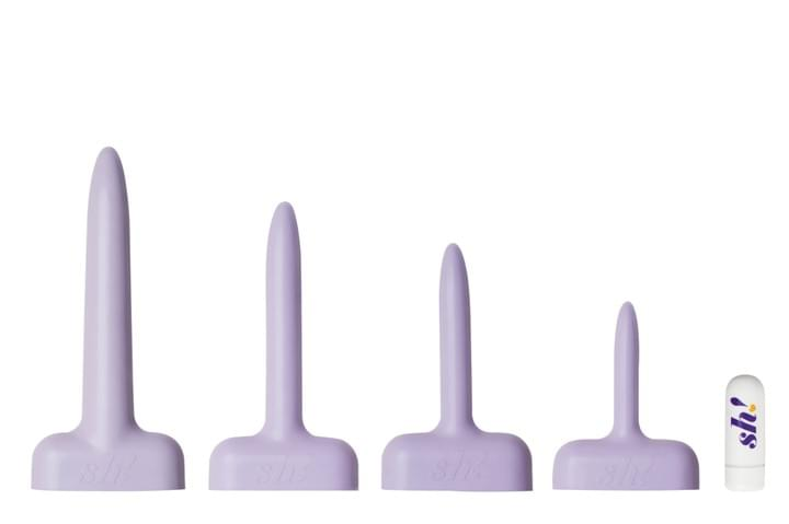 Sh! Soft Silicone Dilating Kit with Bullet Vibe